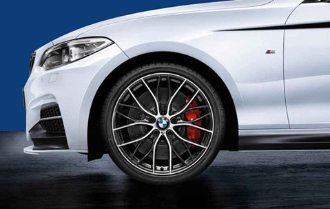 Литой диск M Performance Double-Spoke 405 для BMW F22 2-серия