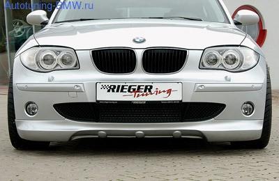 Накладка на бампер передний BMW E81/E87 1-серия