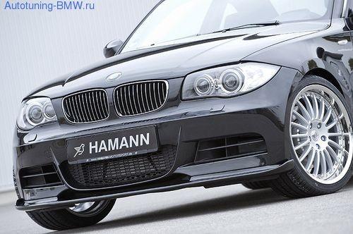 Накладка на бампер передний для BMW E82 1-серия