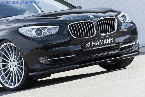 Накладка на бампер передний BMW GT F07 5-серия