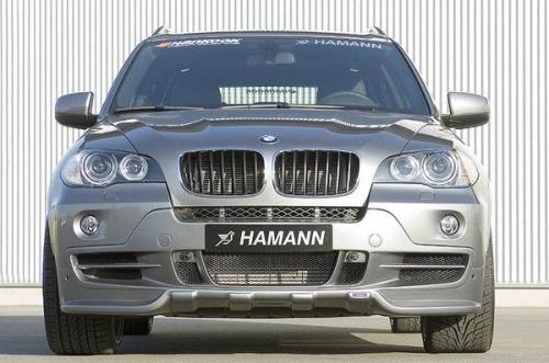 Накладка на бампер передний BMW X5 E70