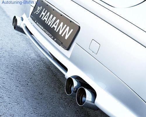 Накладка на бампер задний BMW E87 1-серия