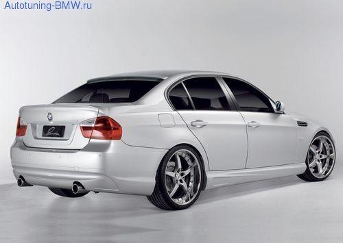 Накладка на задний бампер для BMW E90 3-серия