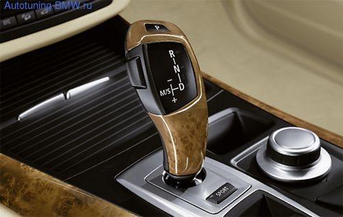 Накладка на рукоятку AКПП для BMW X5 E70