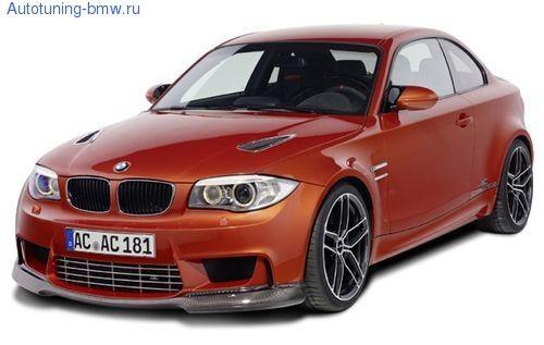 Накладка переднего бампера AC Schnitzer для BMW 1M