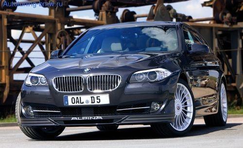 Накладка переднего бампера ALPINA для BMW F10 5-серия