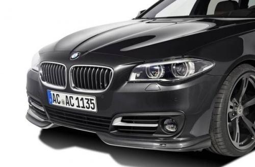 Накладка переднего бампера для BMW F10 LCI 5-серия