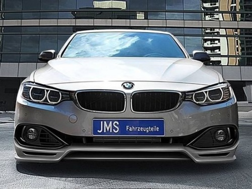 Накладка переднего бампера JMS для BMW F32 4-серия