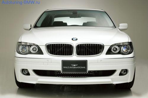 Накладка бампера WALD для BMW E65 7-серия