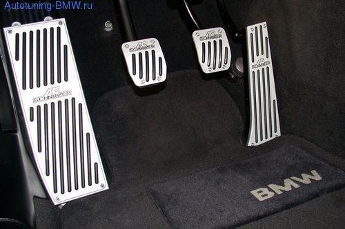 Накладка под ногу для BMW F07 GT 5-серия