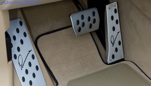 Накладка под ногу для BMW X6 E71 (АКПП)