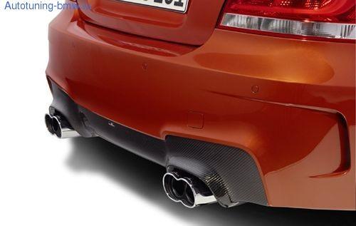 Накладка заднего бампера AC Schnitzer для BMW 1M