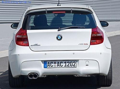 Накладка заднего бампера AC Schnitzer для BMW E81/E87 1-серия