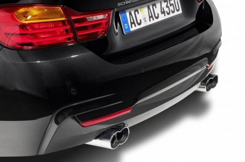 Накладка заднего бампера AC Schnitzer для BMW F32 4-серия