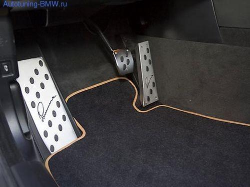 Накладки на педали для BMW Lumma (AКПП)