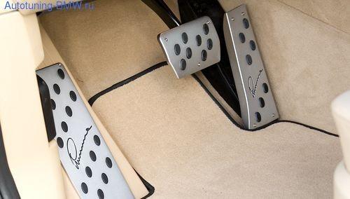 Накладки на педали для BMW X5 E70 (АКПП)