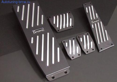 Накладки на педали G-POWER (МКПП)