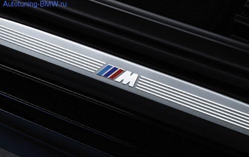 Накладки на пороги дверей M для BMW F07 GT 5-серия