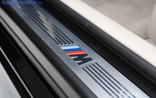 Накладки на пороги в М-стиле для BMW F13 6-серия