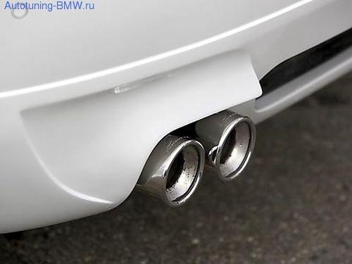 Насадки на глушитель BMW-Lumma