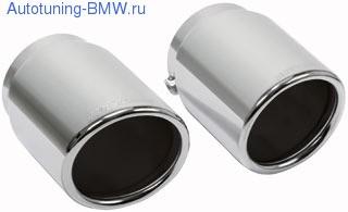 Насадки на глушитель BMW X5 E70