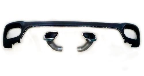Насадки глушителя M Performance для BMW X6 F16
