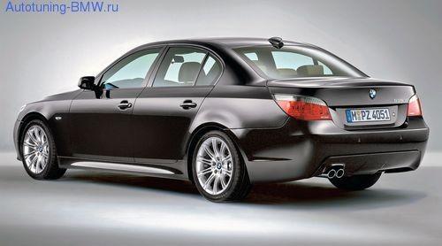 Оригинальные пороги М-стиль для BMW E60 5-серия