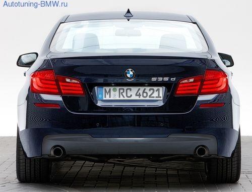 Оригинальный задний бампер М стиль для BMW F10 5-серия
