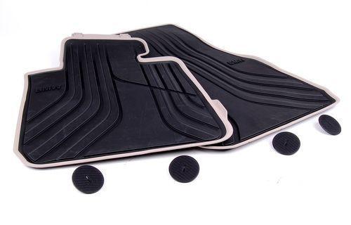 Передние резиновые коврики Modern Line для BMW F32 4-серия