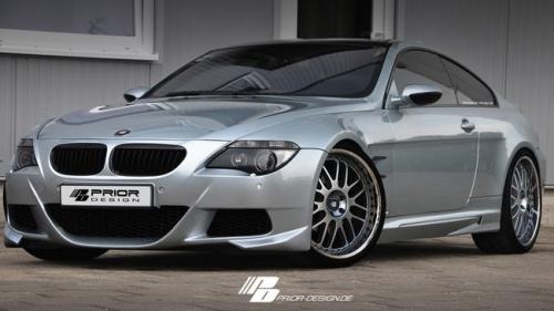 Передний бампер Prior Design для BMW E63 6-серия