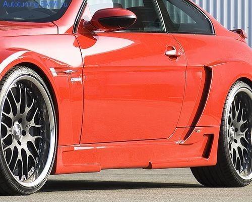 Пороги Hamann для BMW E63 6-серия