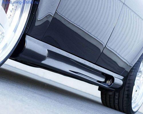 Пороги Hamann для BMW E65 7-серия