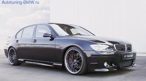 Пороги Hamann для BMW E66 7-серия