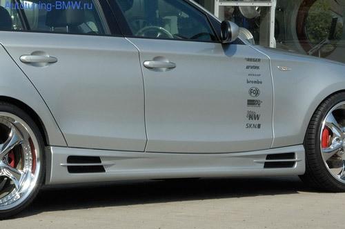 Пороги BMW E81/E87 1-серия