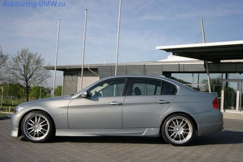 Пороги Rieger для BMW E90 3-серия