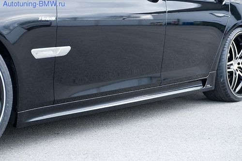 Пороги Hamann для BMW F01 7-серия