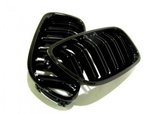 Решетки радиатора M5-стиль для BMW F10 5-серия (черные)