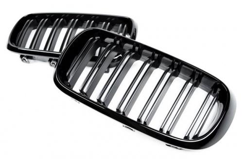 Решетки радиатора М-стиль для BMW X5 F15/X6 F16