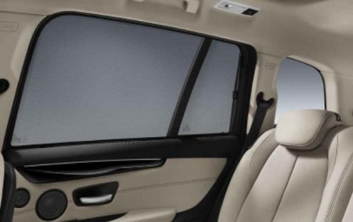 Солнцезащитные шторы боковых стекол для BMW G30 5-серия