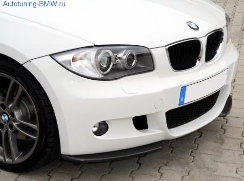 Сплиттеры переднего для BMW E82/E88 1-серия