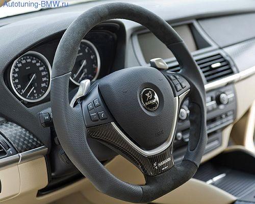 Спортивный руль для BMW X5M E70/X6M E71