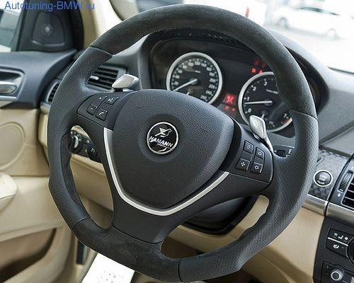 Спортивный руль для BMW X6 E71