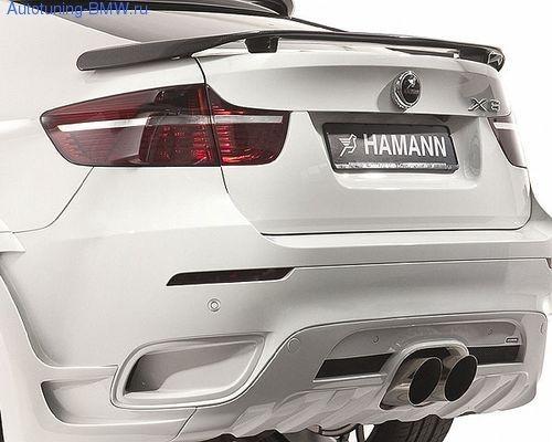 Спойлер Hamann для BMW X6 E71
