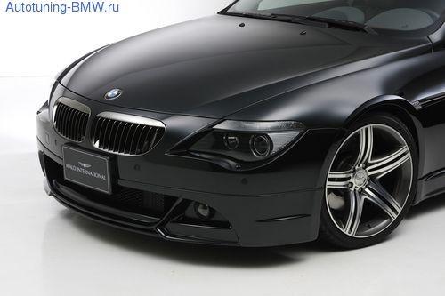 Спойлер переднего бампера BMW E63 6-серия