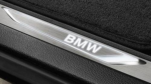 Светодиодные накладки на пороги BMW X5 F15/X6 F16