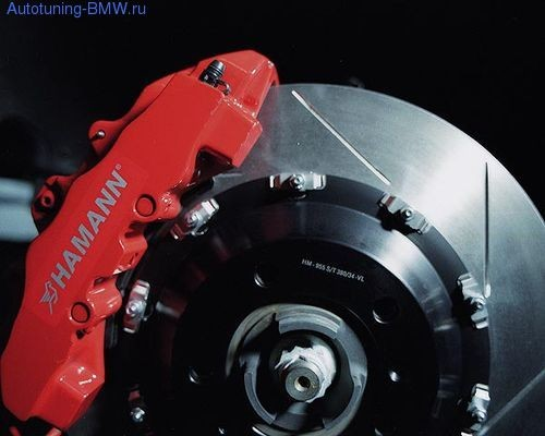 Тормозная система Hamann для BMW X5 E70/X5M E70