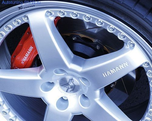 Тормозная система передней оси Hamann для BMW M5 E60