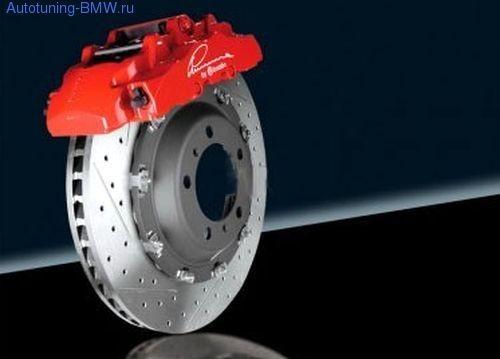 Тормозная система передней оси Lumma для BMW X5 E70/X6 E71