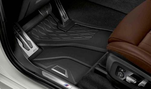 Всепогодные напольные коврики для BMW X5 G05, передние