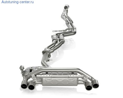 Выхлопная система Akrapovic Evolution для BMW 1M Coupe
